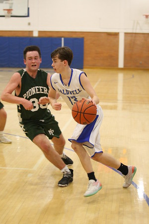 2019 Caldwell Basketball Senior Night