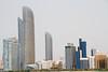 skyline, Abu Dhabi