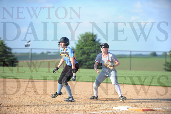 Newton vs. Lynnville-Sully softball 6-4-2019