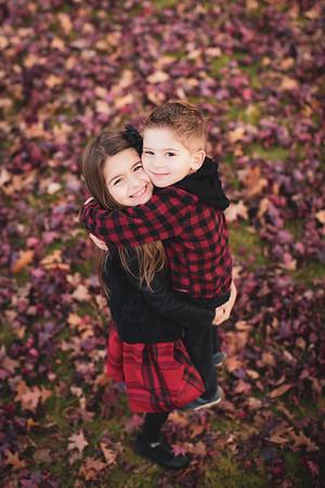 Olivia & Jacob Fall Portraits