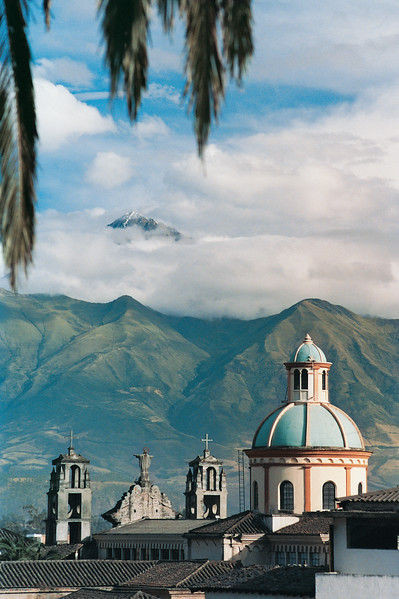 Otalvalo Church and the Andes