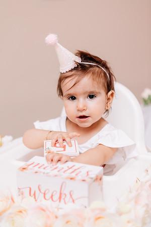 Evanna Baptism + 1st Birthday