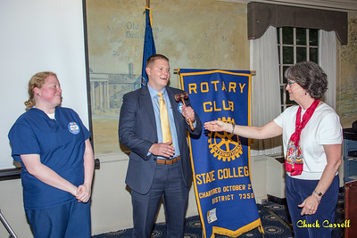 State College Rotary Club Instillation of Officers 2018