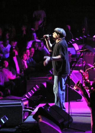 Bob Seger concert, Dec. 2, 2006, Kansas City.