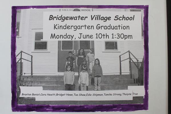 Bridgewater Village School Kindergarten Grads