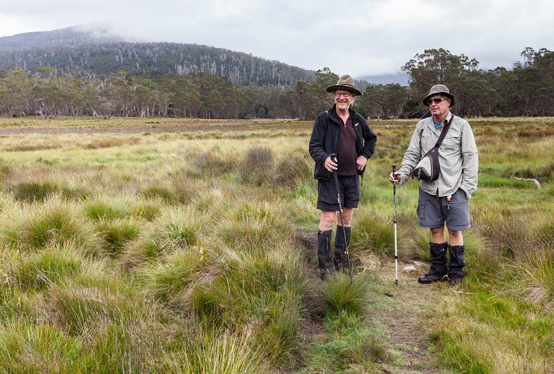 Greg & Jonkie March Towards Mt Oakleigh