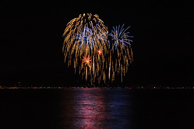Lake Tahoe fire Works, 4th of July