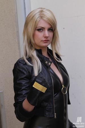 Lady Lynn as Black Canary @ WonderCon 2013
