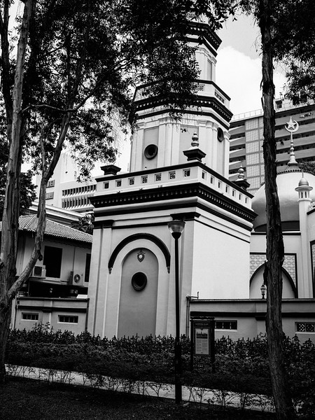 The Leaning Tower of Singapore, Hajjah Fatimah Mosque