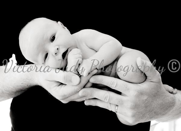 Baby V Newborn Session - Oct 2014