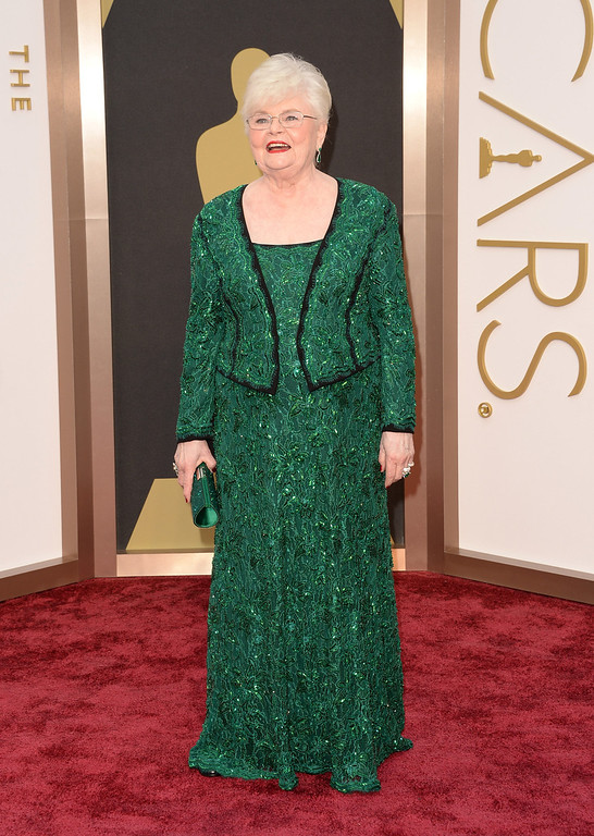 . Actress June Squibb attends the Oscars held at Hollywood & Highland Center on March 2, 2014 in Hollywood, California.  (Photo by Jason Merritt/Getty Images)