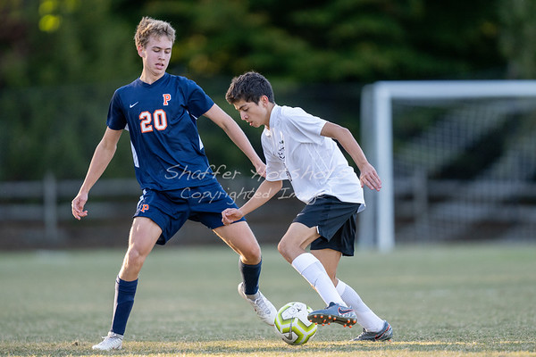 Fall 2019:  JV Boys Soccer at Potomac School
