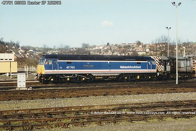 Class 47/7 47701-47716