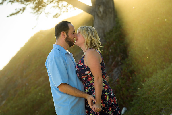 Caitlin and Dylan (Engagement Photography) @ Stewart's Cove, Carmel