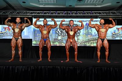 Men's Bodybuilding Masters 35+ HW