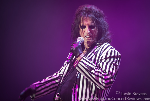 Alice Cooper At The Lynn Auditorium - MA