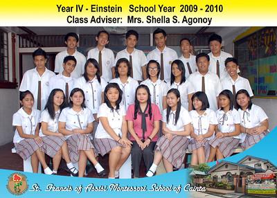 Class Photos SY 2009-2010