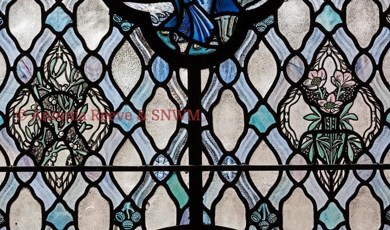 Winter Window, Mistletoe & Hellebore