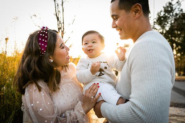 Felicia + Mike Family Shoot Waterworks