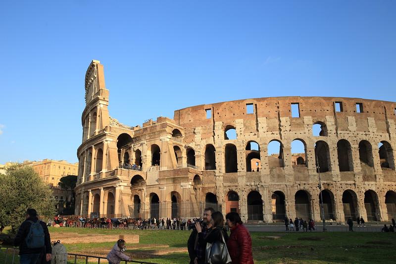 Roman Colosseum - AD 80 - Rome, Italy
