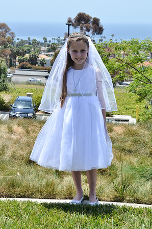 Joanna's 1st Communion