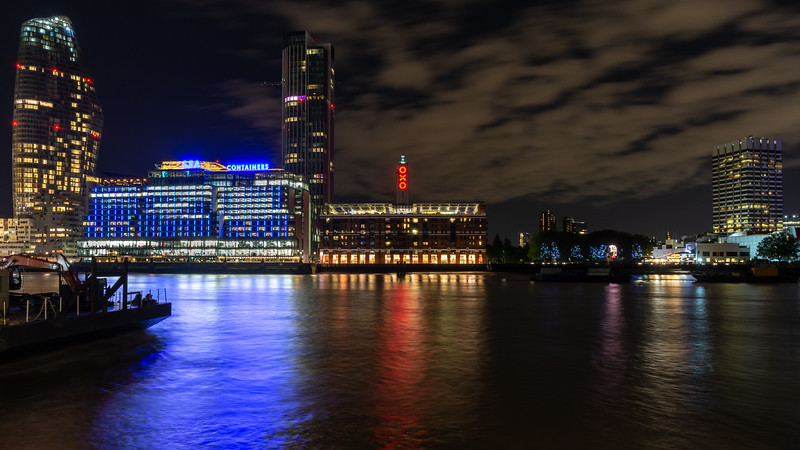 South Bank skyline in London