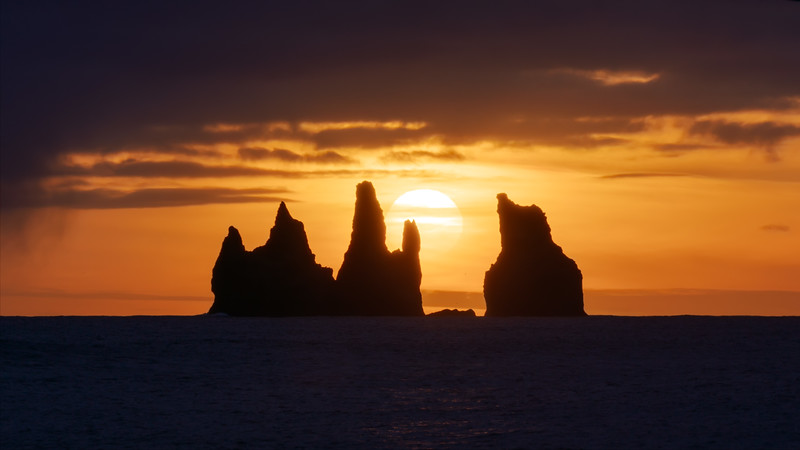 Reynisdrangar Cliffs Sunset Landscape Photography Iceland.jpg