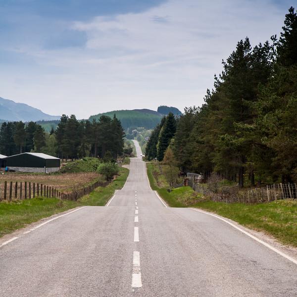 General Wade's road in Stratherrick