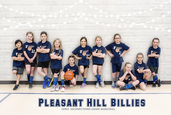 Pleasant Hill Billies Girls 2nd Grade