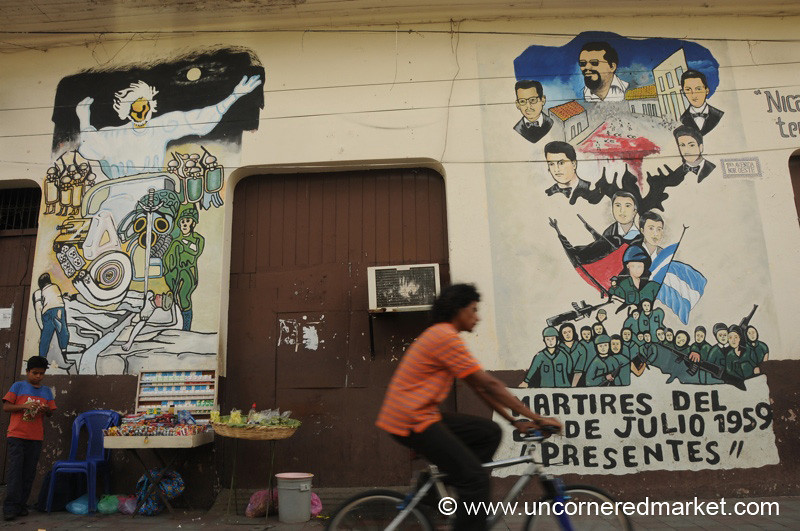 Leon, Nicaragua: Riding By