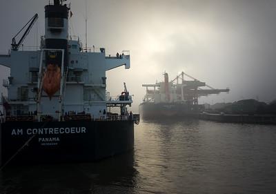 2014 11 21 Nebel im Hamburger Hafen