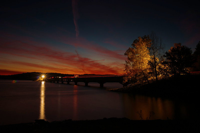 10.24.18 - Beaver Lake: HWY 12 Bridge Construction