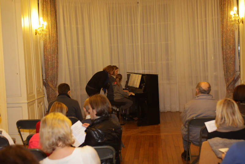 Audition multi-classes de novembre 2013