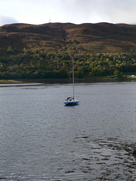 """Corpach (Field of the Dead) 3 miles from the start of the journey. """"Where Loch Eil, Loch Linnhe andthe Caledonian Canal meet. Corpach was where the bodies of Highland nobility were kept on rout to Iona for burial. The canal basin accommodates vessels up to 203 ft long."""""""