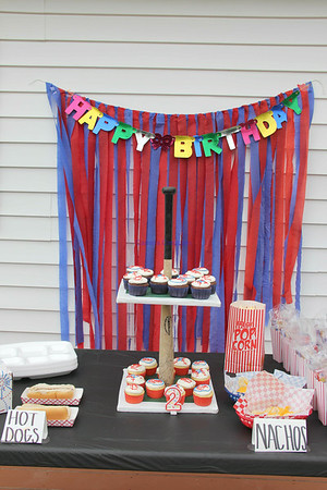 Kollin/ 2nd Birthday Party / Aug 2014