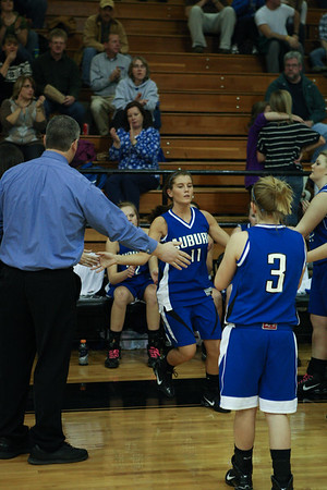 Auburn vs Radford Varsity Girls - 1-14-2011