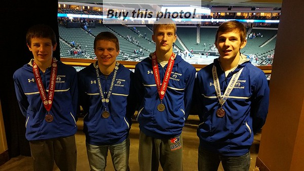 BBE wrestling at STATE - part II