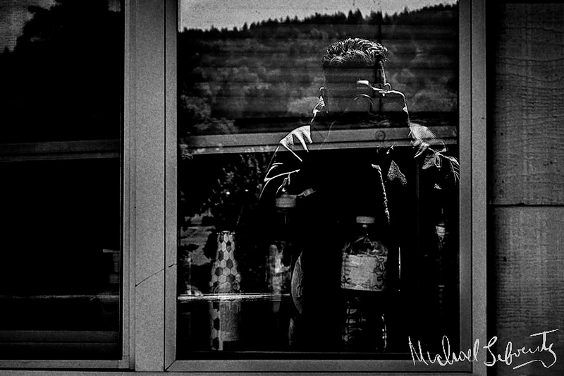 self reflection with water bottle bw10153955945812741026