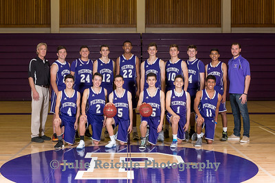 PHS JV Basketball, Dec 2016
