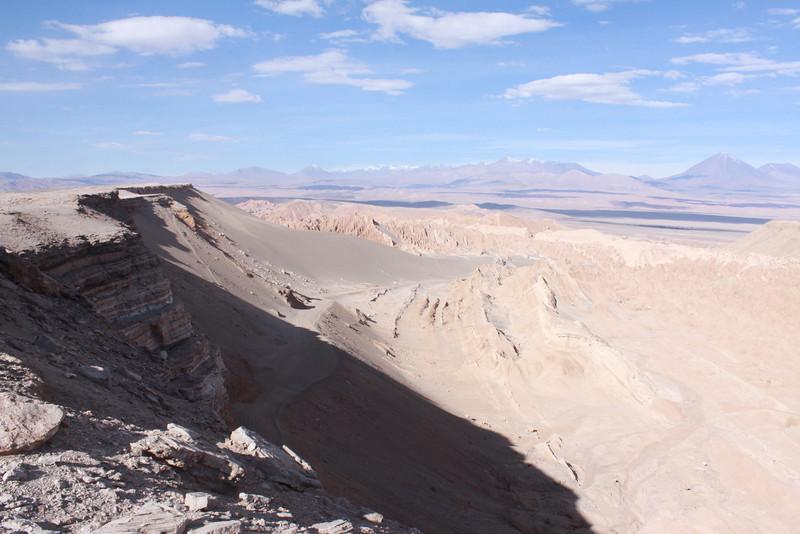 Cornisas of the Cordillera de la Sal