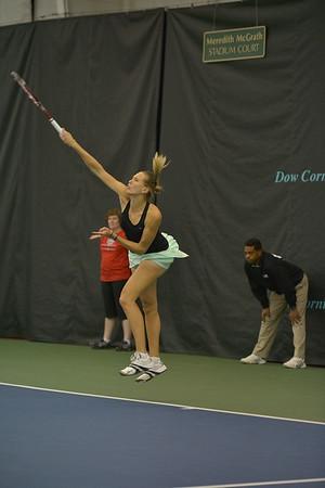 Nicole VAIDISOVA (CZE) vs  Nicole MELICHAR (USA) (Tuesday)