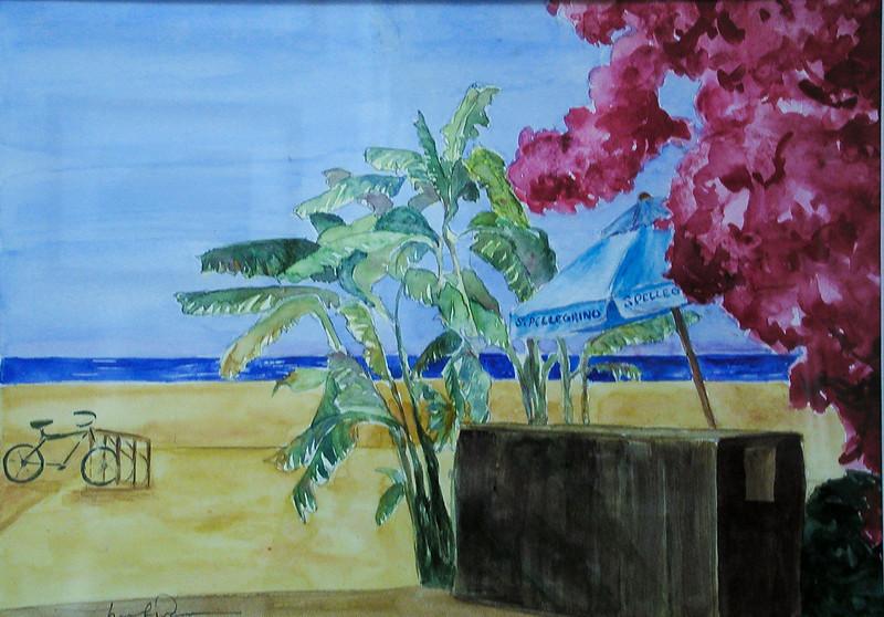 BACK ON THE BEACH