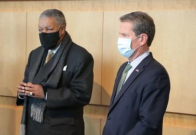 Gov. Kemp & Chairman Pitts GICC Tour Vaccine Site