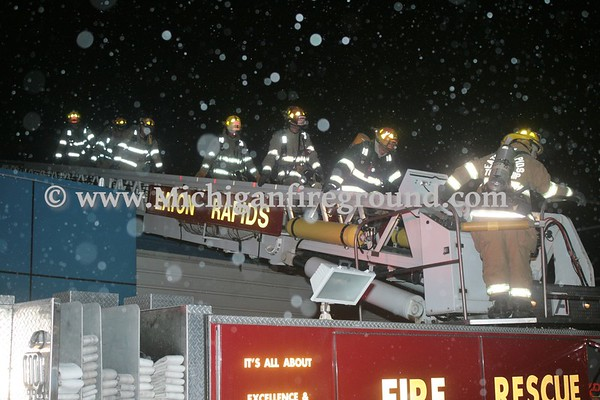 3/1/17 - Eaton Rapids fire in an industrial building, 2001 Industrial Dr