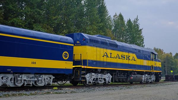 Alaska Railroad's Denali Star  Talkeetna - Denali