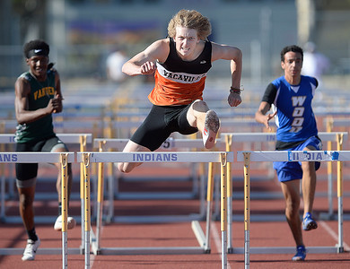 Vacaville High girls and boys win MEL track and field championships