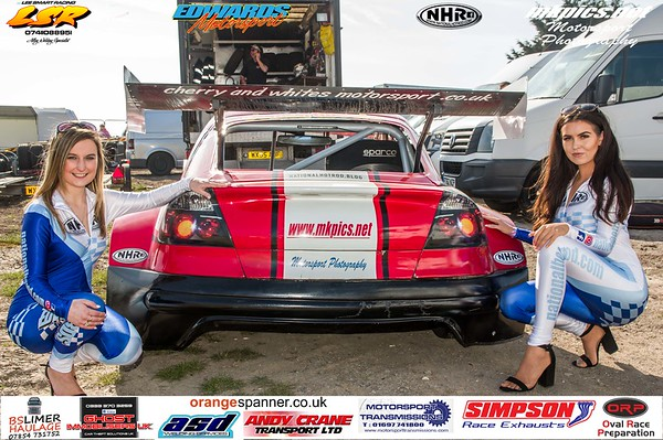 National Hot Rod Grid Girls at Skegness,
