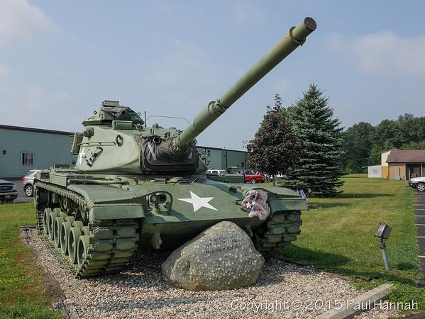 AL Post 143 - Bristol, IN - M60A3