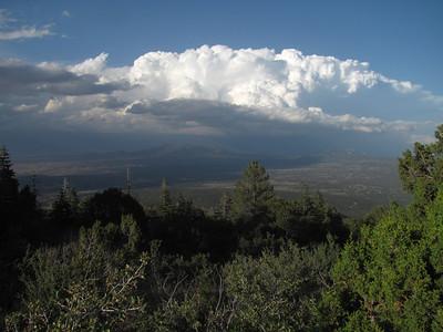 Sandia Mtns. - Tecolote Peak Hike  6-7-14