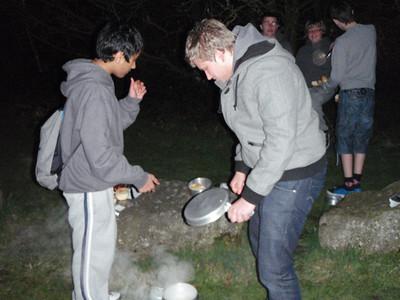 Outdoor Cooking Explorers March 2011